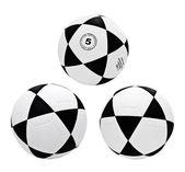 Set of footballs isolated — Stock Photo