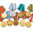 Stock Photo: Collection of medals