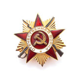 Great Patriotic War medal — Stock Photo