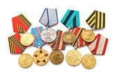 Collection of medals — Stock Photo
