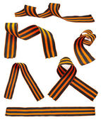 Set of St. George Ribbons — Stock Photo