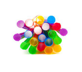 Multi-coloured drinking straws — Stock Photo