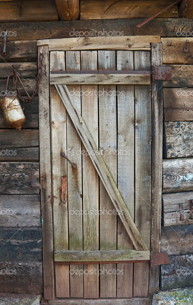 Vieille Porte En Bois Pourri Photographie Yellek 3095337 - Photos De ...