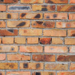 Wall from a red brick in a grunge style — Stock Photo #3526380