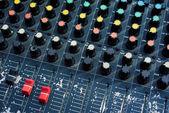 Old audio mixer — Stock Photo
