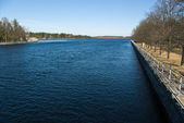Vuoksi river in Imatra — Stock Photo