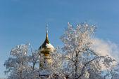 Igreja ortodoxa russa — Fotografia Stock