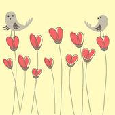 Valentine`s heart card.Vector illustration. — Stock Vector