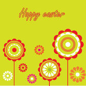 Easter card — Stock Vector