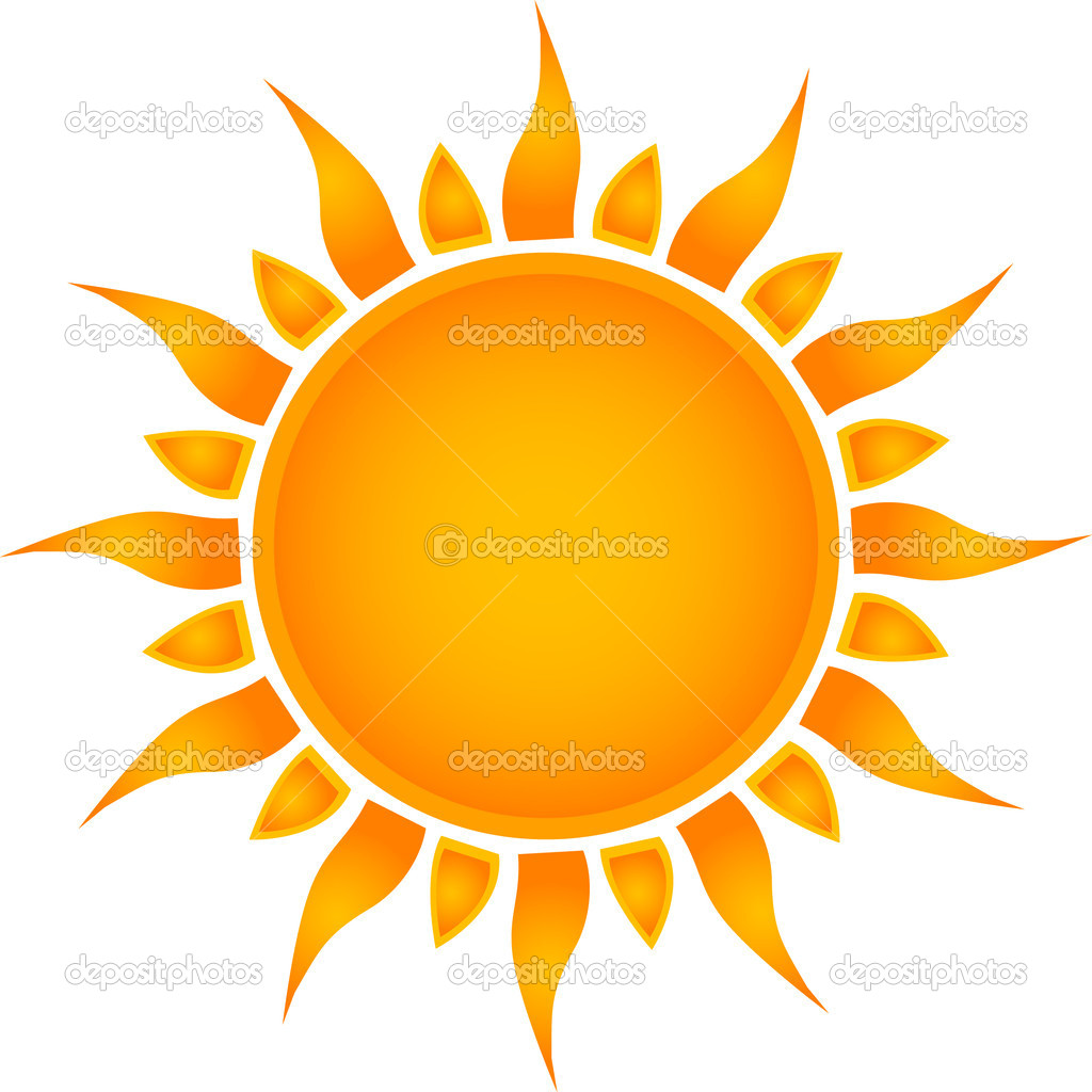 Sun icon. Vector   Stock Vector #3840930