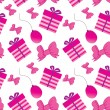 Birthdays seamless background — Vettoriali Stock