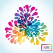 Abstract floral background — Vector de stock #3914581