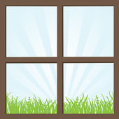 Window — Stock Vector