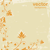 Abstract Floral background — Stock Vector