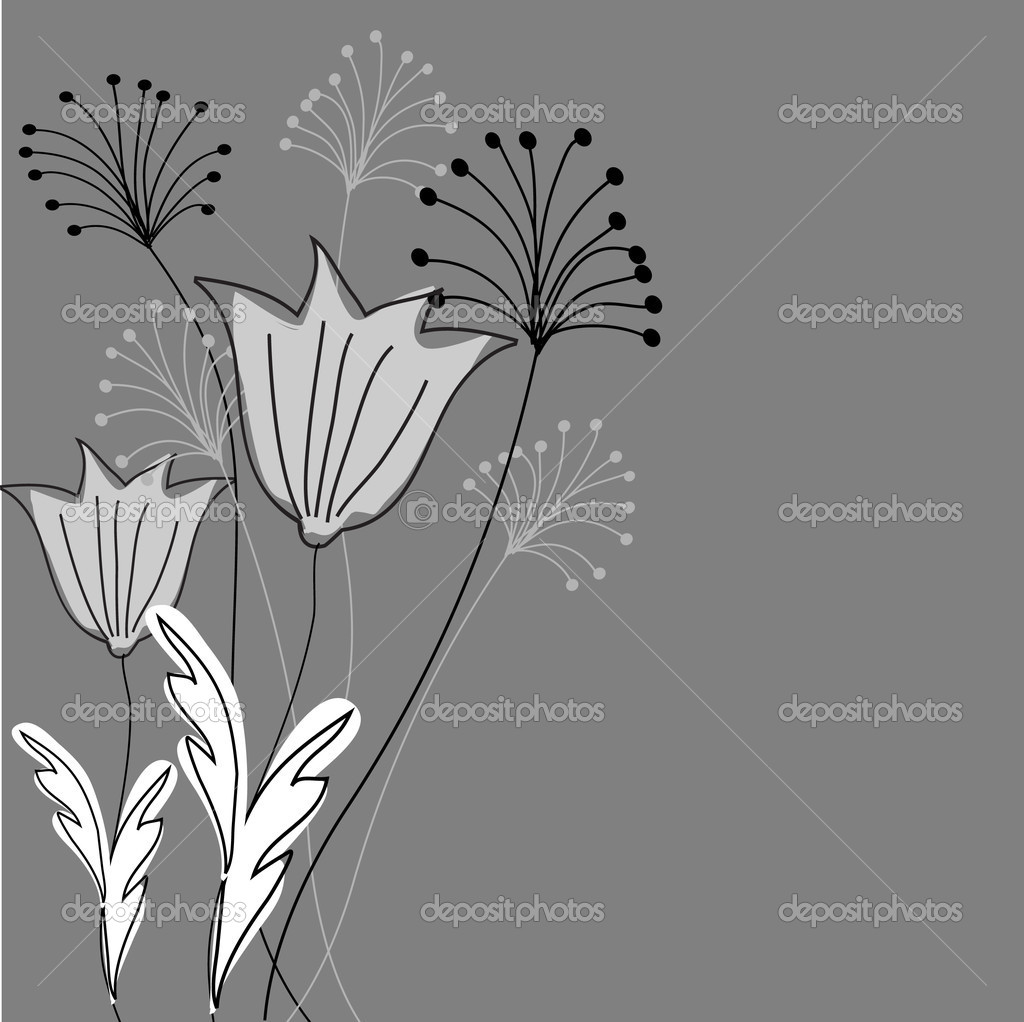 Abstract Floral background  — Stock Vector #3914392