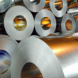 Stock Photo: Steel rolls