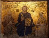 Ancient Orthodox icon — Stock Photo