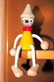 Wood pinocchio — Stock Photo