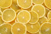 Fondo abstracto con cítricos de rodajas de limón. close-up. fotografía de estudio. — Foto de Stock