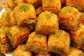 Fresh turkish sweet — Stock Photo