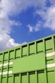 зеленый флажок — Стоковое фото