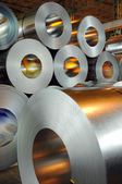 Steel rolls — Stock Photo