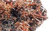 Crocoite – mineral — Stock Photo