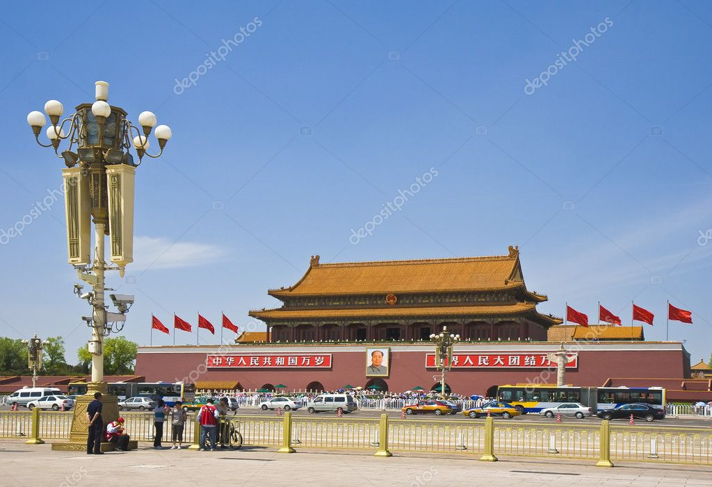 View of the Gate of Heavenly Peace, Beijing — Stock Photo #3616637