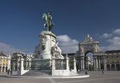 King Jose I Statue — Stock Photo