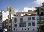 Lisbon, eski şehir — Stok fotoğraf