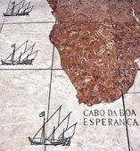World Map Mosaic - Southern Africa — Stock Photo