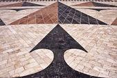 World Map Mosaic - Geometric detail — Stock Photo