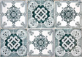 Decorative Tiles (Azulejos) — 图库照片