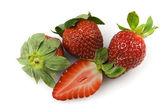 Organic Strawberries — Stock Photo