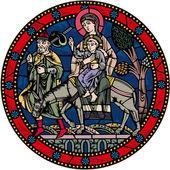 中世纪圣经设计 — 图库矢量图片