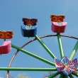 Colorful Ferris Wheel in Yaroslavl - Stock Photo
