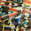 Set of various building tools - Stock Photo