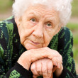Portrait of the old woman — Stock Photo #3087536