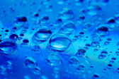 Water droplets on glass. Raindrops. — Stock Photo