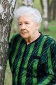 Porträtt av den gammala kvinnan — Stockfoto
