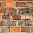 Wall from the old bricks. Background — Stock Photo