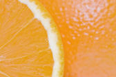 Pulp of an orange — Stock fotografie
