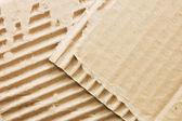 Cardboard structure. Macro. — Stock Photo