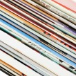 Pile of fresh magazines — Stock Photo