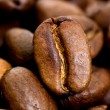 Stock Photo: Close up macro shot of coffee bean