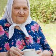 Portrait of old woman — Stock Photo #3495854