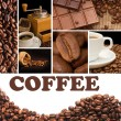 Collage from fragrant coffee — Stock Photo #3501812