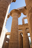 Columns at Karnak Temple, Luxor, Egypt — Stock fotografie