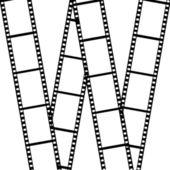 Film isolated on white background — Stock Photo