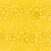 Seamless golden background — Stok Vektör